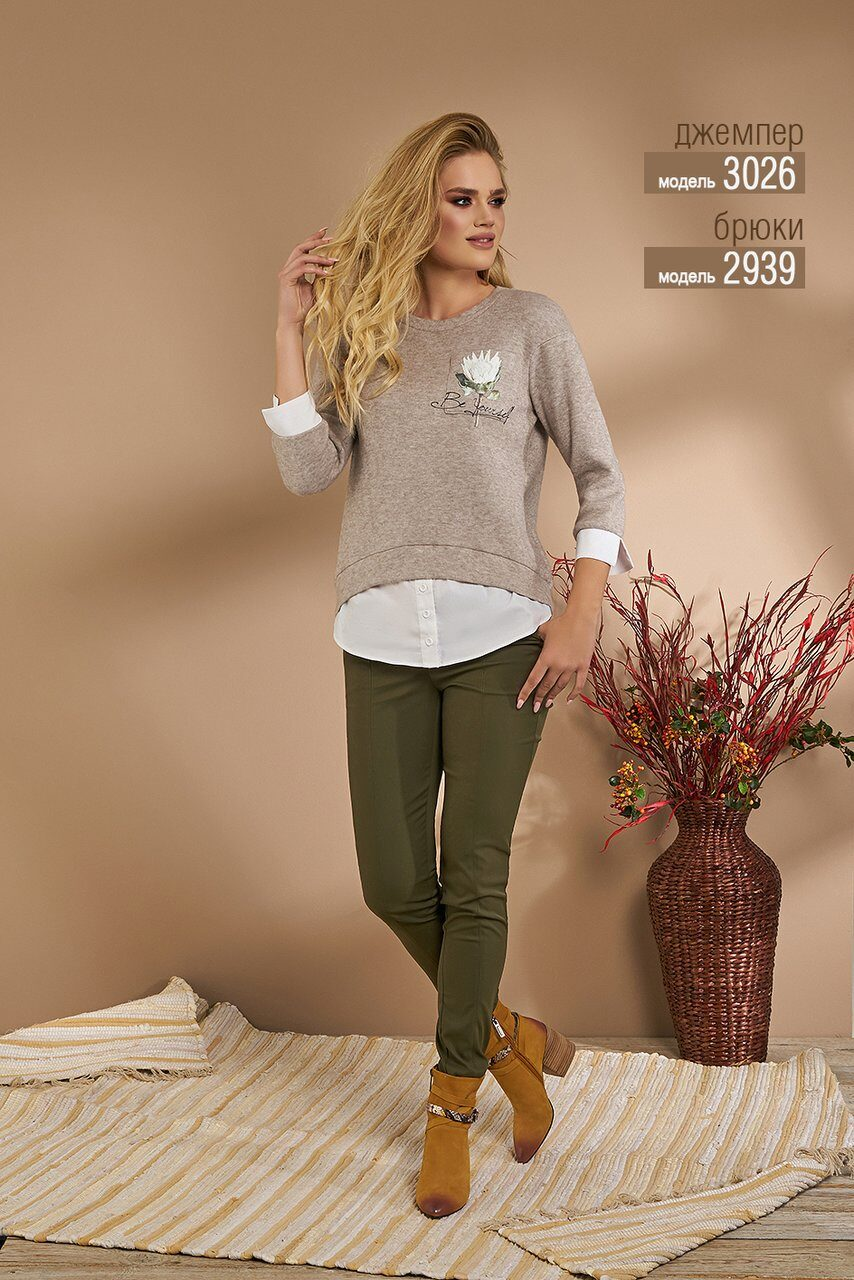 Джемпер Niv Niv Fashion артикул 3026